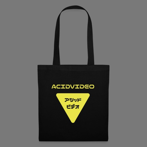 Acidvideo logo - Tote Bag