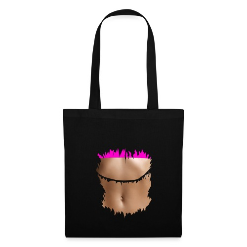 t shirt ventre plat brassiere rose - Tote Bag