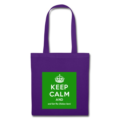 Keep Calm and Get The Chicken Sarni - Green - Tote Bag