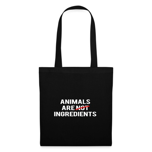 Animals Are Ingredients - Tote Bag
