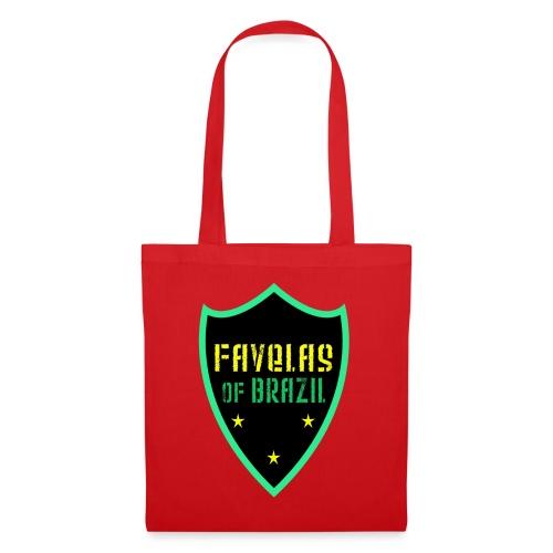 FAVELAS OF BRAZIL NOIR VERT DESIGN - Tote Bag