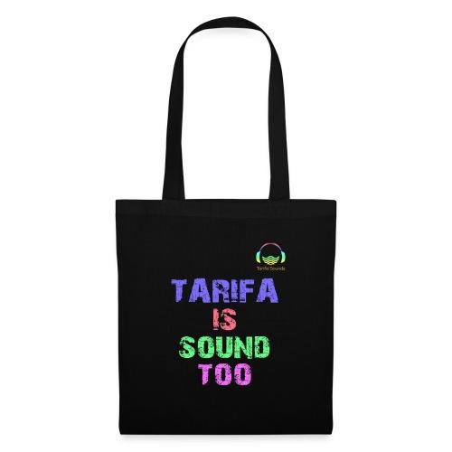 Tarifa tambiés es sonido - Bolsa de tela