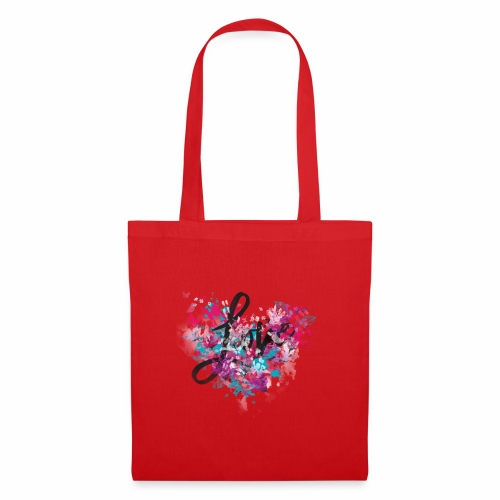 Love with Heart - Tote Bag