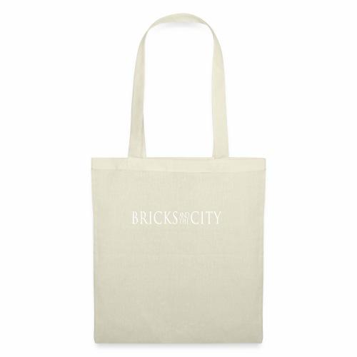 Bricks and the City (Whitestyle) - Borsa di stoffa