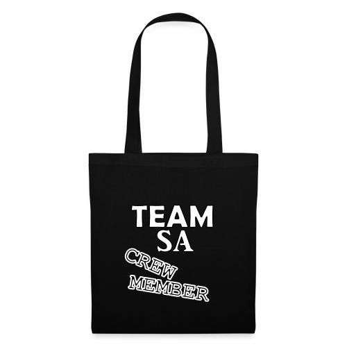 Team SA Crew Member Vit - Tygväska