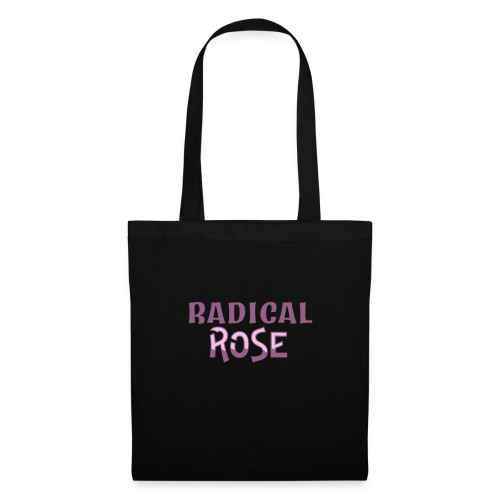 RADICAL rose logo - Tote Bag