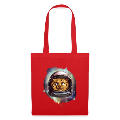 Cute astronaut kitten - Tote Bag