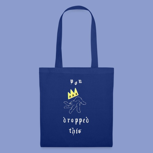 you dropped this - Borsa di stoffa