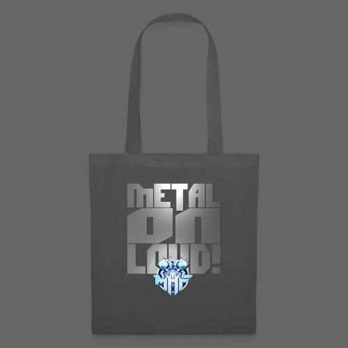 metalonloud large 4k png - Tote Bag