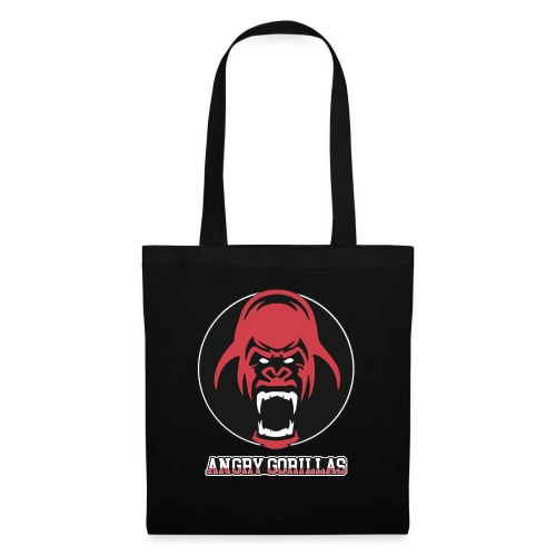 ANGRYGORILLAS Snapback Black/Grey (Logo) - Stoffbeutel