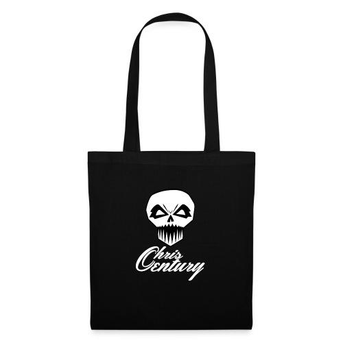 logo Chris Century blanc - Tote Bag