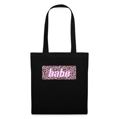 Collectie 'WILD BABE' - roze - Tas van stof