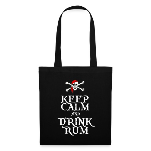 Keep Calm and Drink Rum - Tote Bag