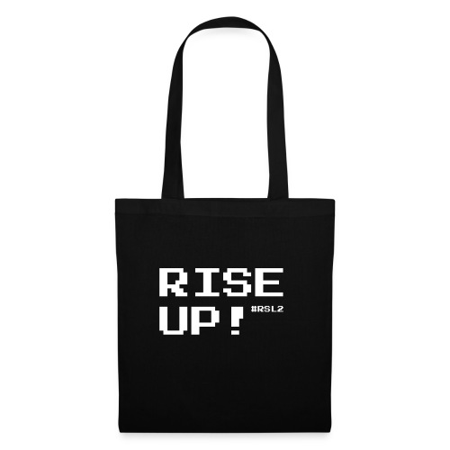 RISE UP! - white - Tote Bag