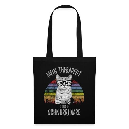 Vorschau: Therapeut Katze - Stoffbeutel