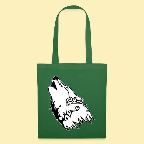 Le Loup de Neved (version contour blanc) - Sac en tissu