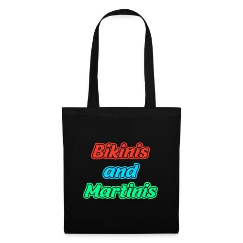 Bikinis & Martinis - Stoffbeutel