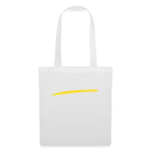 Baffo giallo - Borsa di stoffa