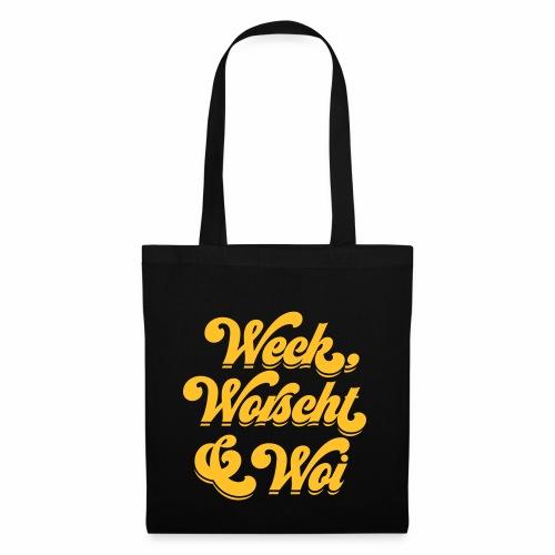 Weck, Worscht & Woi - Stoffbeutel