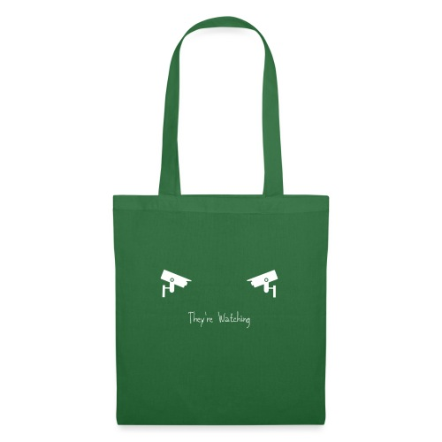 They're Watching - Tote Bag