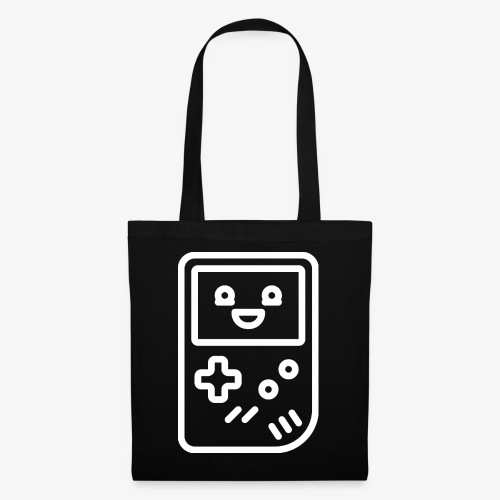 Smiling game console (white) - Tote Bag