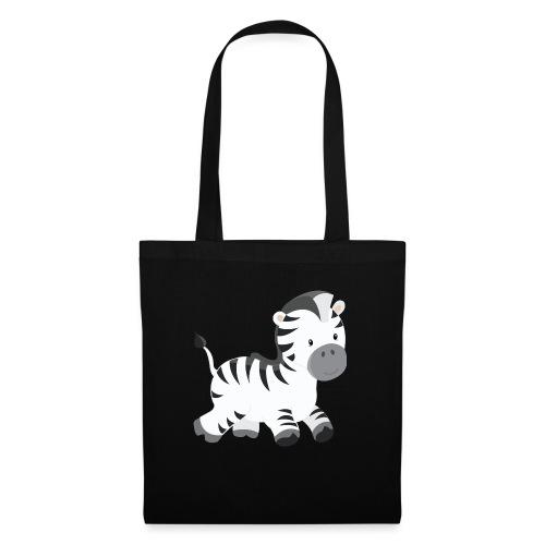 Zebra - Stoffbeutel
