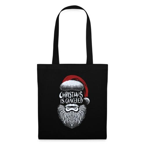 Christmas is canceled (Weihnachten fällt aus) - Stoffbeutel