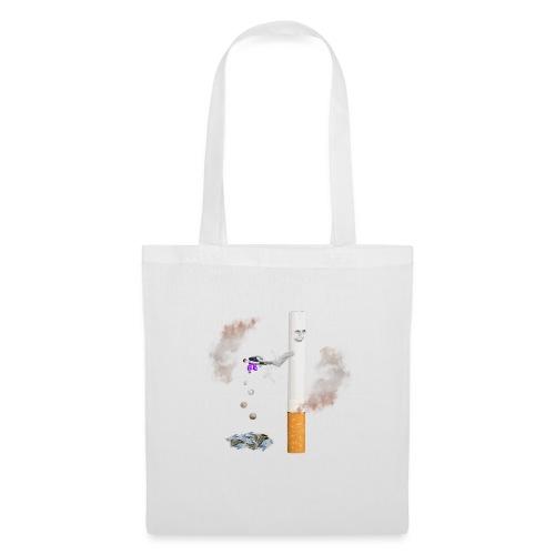 Wzór (nie) palacza. koszulki i gadżety - Torba materiałowa
