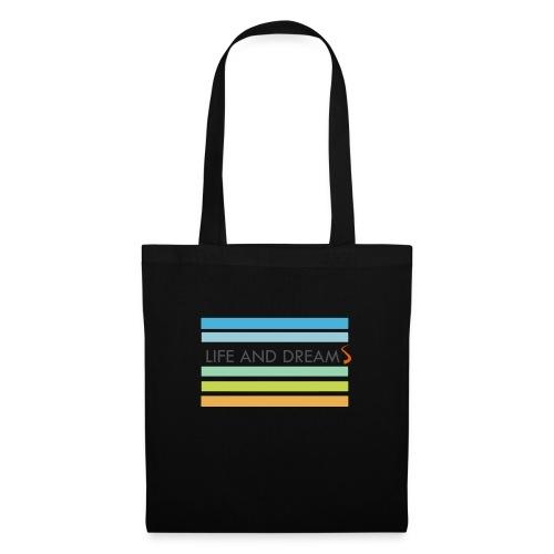 Colores y letras - Bolsa de tela