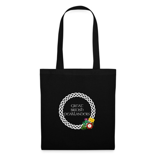 Great British Peaklanders (black) - Tote Bag