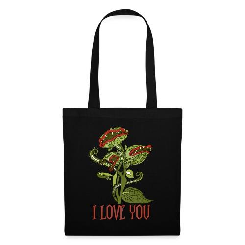 carnivorous plant - Stoffbeutel