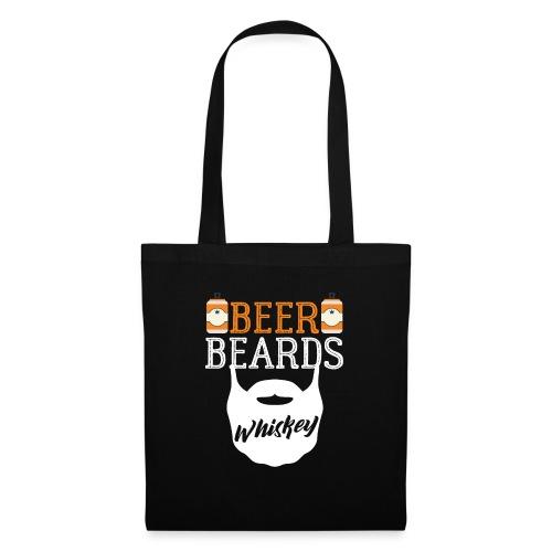 Beer Beards Whiskey - Stoffbeutel