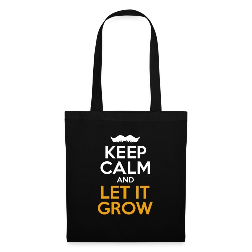Keep Calm And Let It Grow - Stoffbeutel