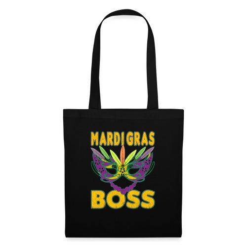 Funny Mardi Gras Boss Shirt Party Carnival gift - Sac en tissu