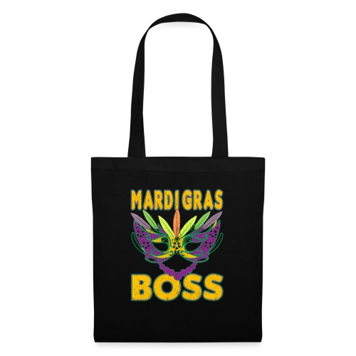 Funny Mardi Gras Boss Shirt Party Carnival gift - Tote Bag