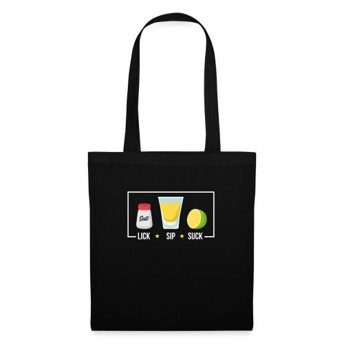 Tequila - Lick Sip Suck - Tote Bag