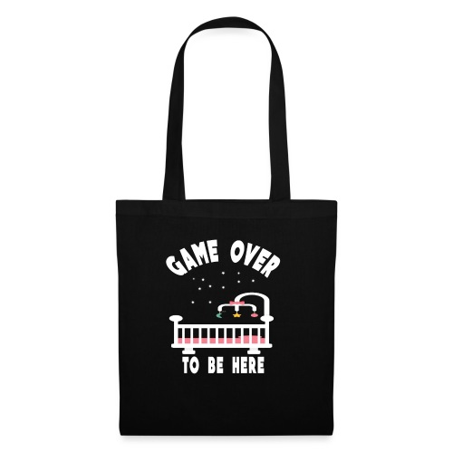 game over to be here - Tote Bag