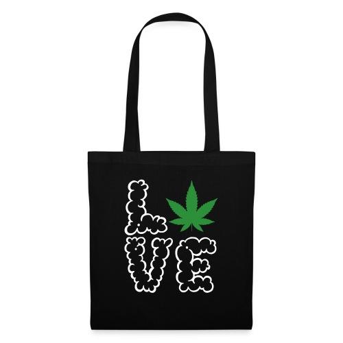 Love Weed - Stoffbeutel