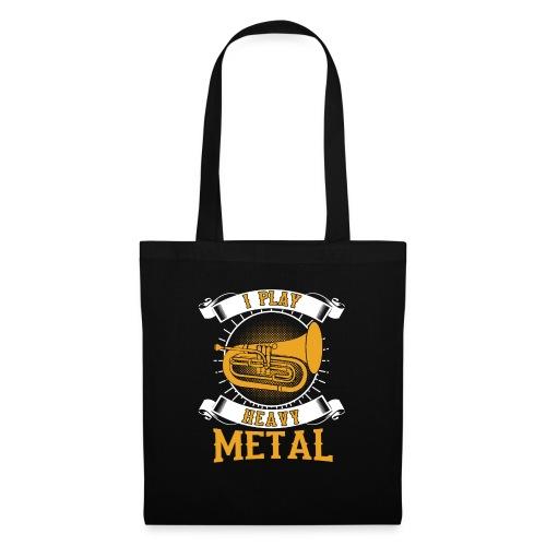 892 I Play Heavy Metal Baritone Euphonium - Tote Bag