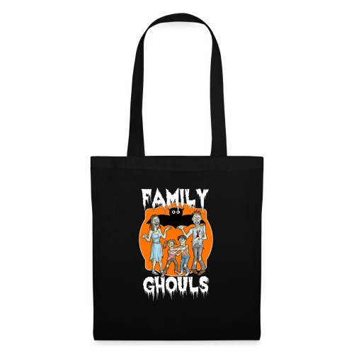 Zombie Family Ghouls Halloween Night Party - Tote Bag