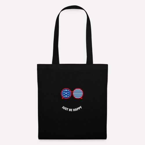 Be Happy, enjoy life and spread happiness - Tote Bag