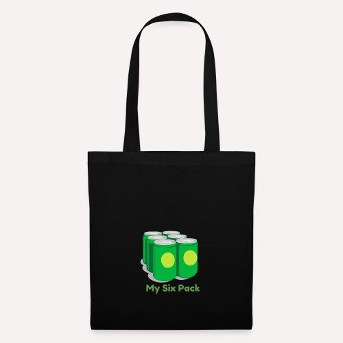 My Six Pack tshirt print - Tote Bag