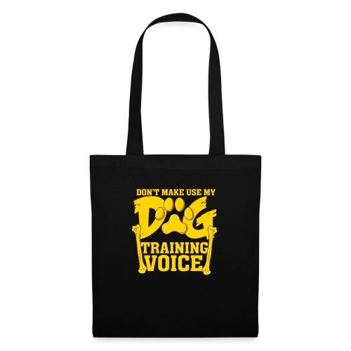 Für Hundetrainer oder Manager Trainings-Stimme - Stoffbeutel