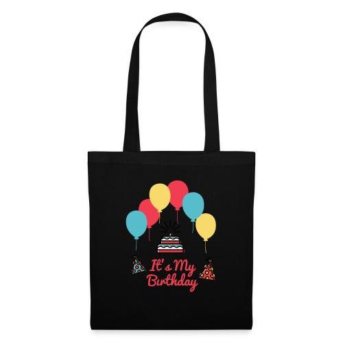 It's My Birthday Design - Bolsa de tela