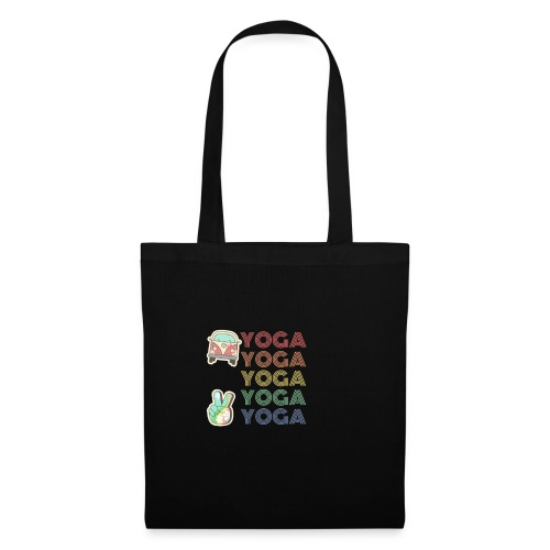 YOGA HIPPIE - Bolsa de tela