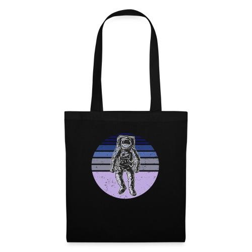 Astronaut Vintage Retro Weltraum Geschenkidee - Stoffbeutel