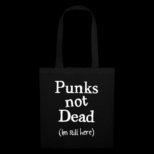 punks not dead - Tygväska