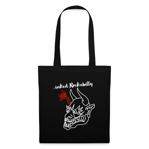 ...inked Rockabilly, Rockabella, Psychobilly. - Stoffbeutel