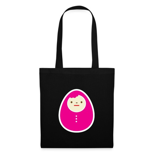 Pink kokeshi - Tote Bag