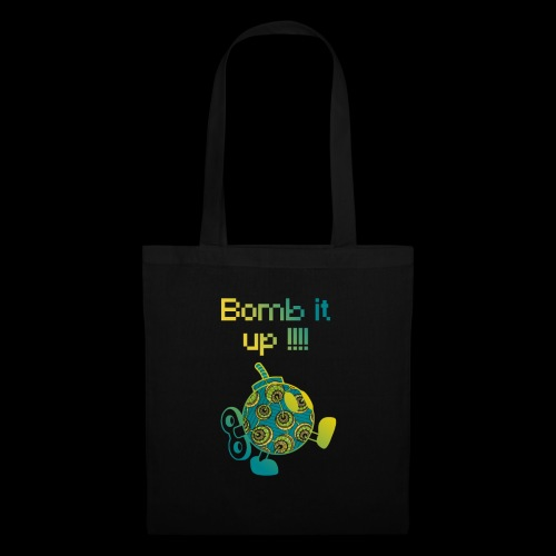 Bomb It Up : Green Power !!! - Tote Bag